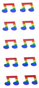 Stickers 10 per sheet